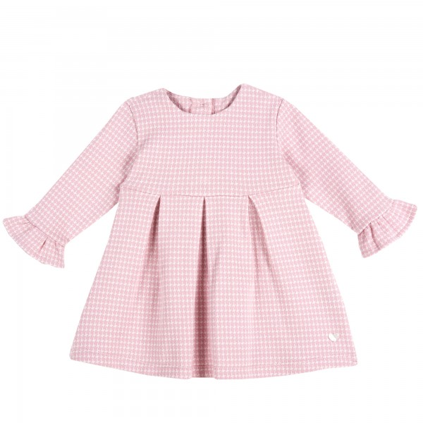Βρεφικό φορεματάκι ροζ καρό από την Chicco