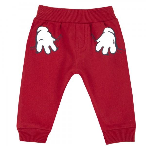 Παντελόνι φόρμας κόκκινο αγορίστικο με στάμπες από την Chicco