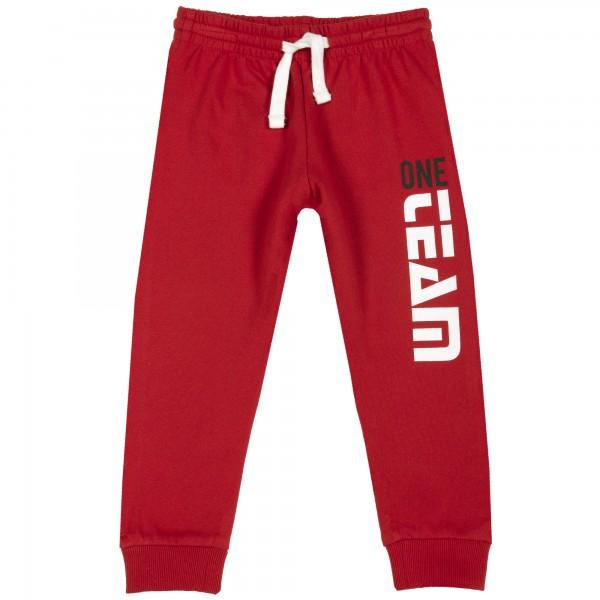 Παντελόνι φόρμας αγορίστικο κόκκινο από την Chicco