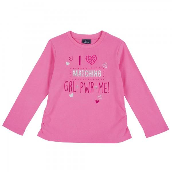 Μπλουζάκι κοριτσίστικο ροζ με στάμπα από την Chicco