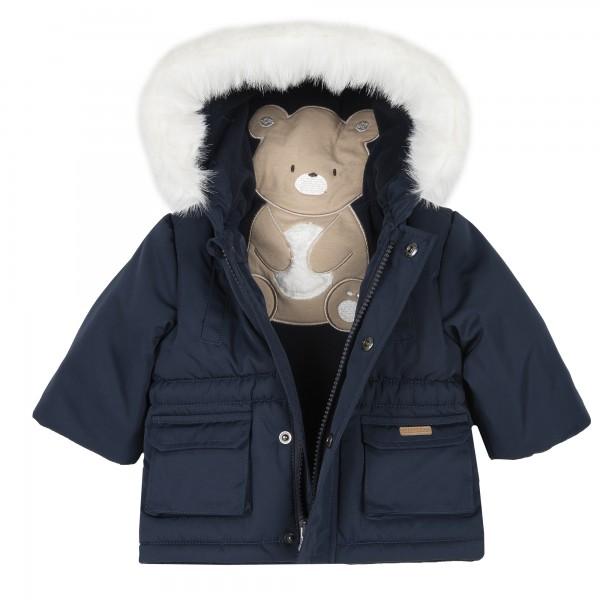 Βρεφικό μπουφάν με γούνα στη κουκούλα από την Chicco