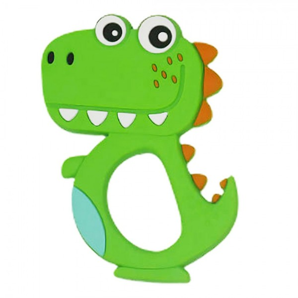 Μασητικό οδοντοφυΐας πράσινος δεινόσαυρος 3+ μηνών