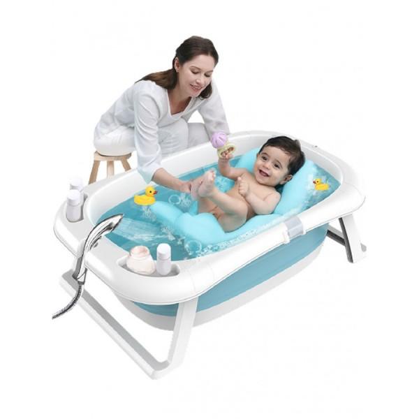 Μπανιέρα μωρού σε μπλε χρώμα