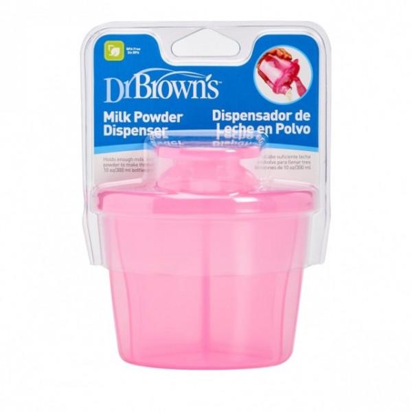 Dr. Brown's Δοσομετρητής σκόνης γάλακτος ροζ