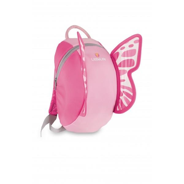 Σακίδιο Πλάτης +3 ετών 6Lt Πεταλούδα Ροζ