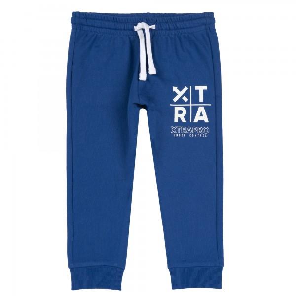 Παντελόνι φόρμας αγορίστικο μπλε με σχέδιο από την Chicco