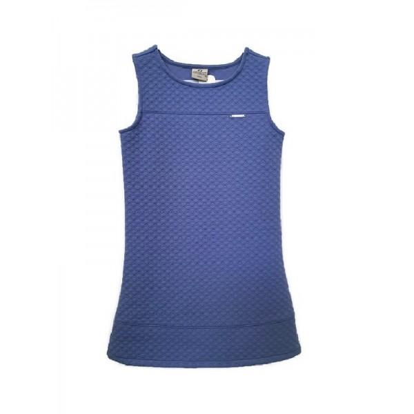 Αμάνικο φόρεμα κοριτσίστικο μπλε