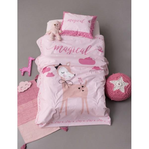 Σετ Σεντόνια Happy Baby 120x160 HB0577 Ροζ