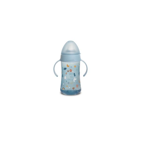 Δεύτερο μπουκάλι με λαβές Suavinex Blue Forest 270ml