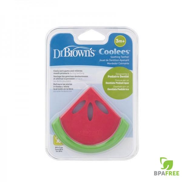 Δροσιστικός κρίκος οδοντοφυίας καρπούζι Dr Brown's