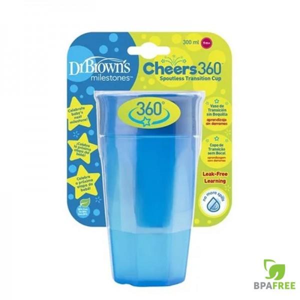 Κύπελλο 360 Μπλε 300ml 1Τμχ Dr'Brown's