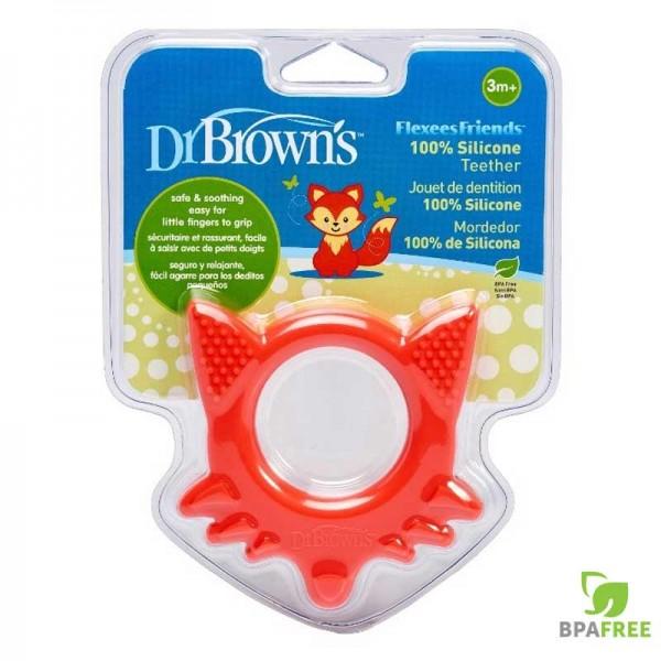 Μασητικός Κρίκος Οδοντοφυίας Αλεπού Dr Brown's