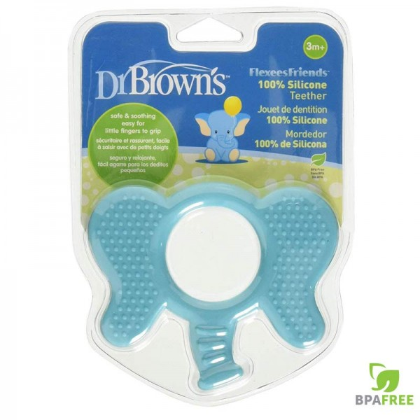 Μασητικός Κρίκος Οδοντοφυίας Ελέφαντας Dr Brown's