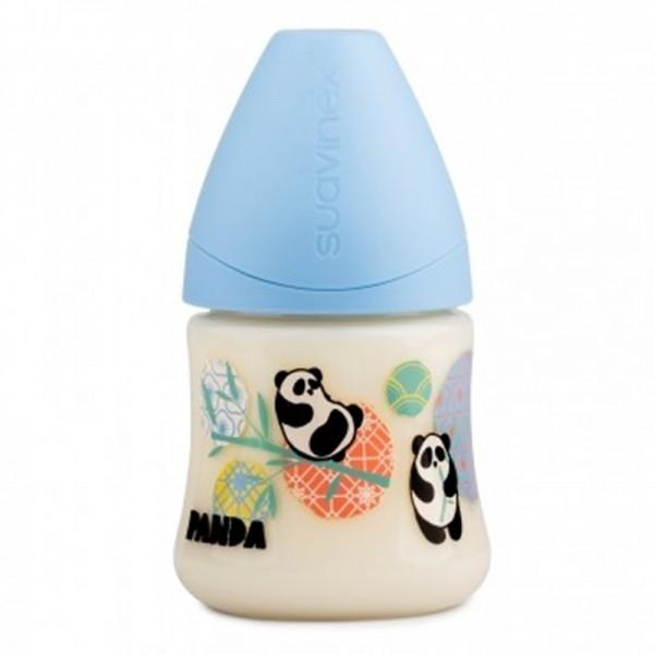 Μπιμπερό 150ml με Ανατομική Θηλή Σιλικόνης Blue Panda 1 S   SUAVINEX