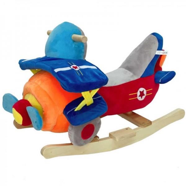 Κουνιστό παιχνίδι ξύλινο Αεροπλάνο