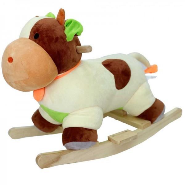 Κουνιστό παιχνίδι ξύλινο Αγελαδίτσα