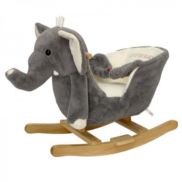 Κουνιστό παιχνίδι ξύλινο Ελέφαντας