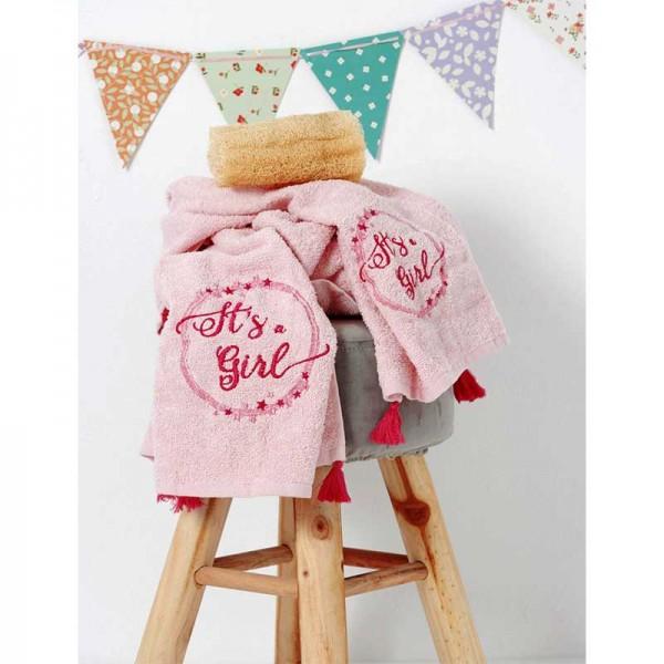 Σετ Πετσέτες με Pon Pon Baby Kids Bath NINA Ροζ