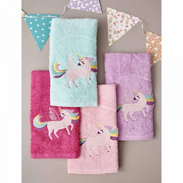 Σετ Πετσέτες Baby Kids Bath UNICORN MAGIC 40x60 4 Τεμ.
