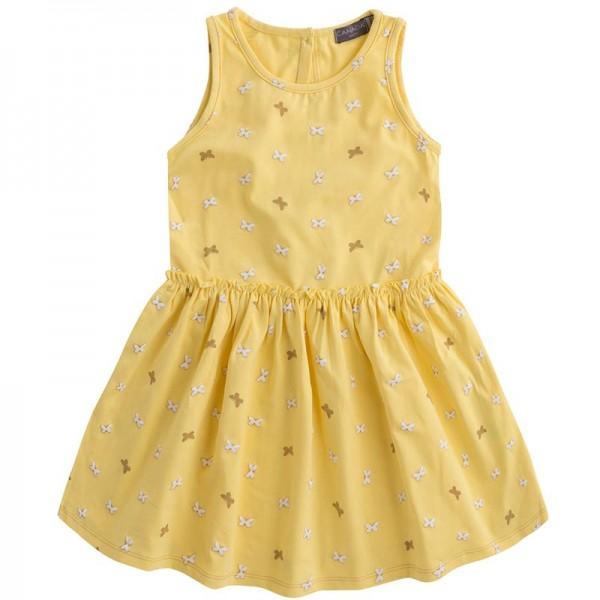 Κίτρινο φόρεμα με πεταλουδίτσες από την Canada House