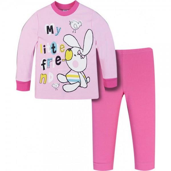 Πιτζάμα για κορίτσι ροζ Pretty baby