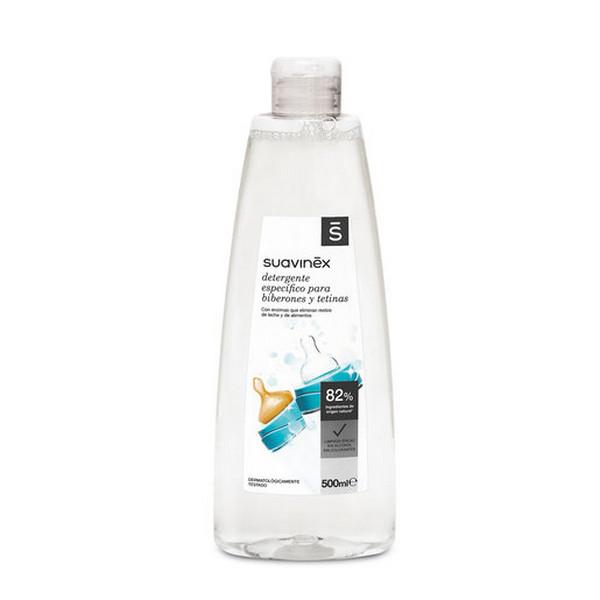 Καθαριστικό υγρό για βρεφικά προϊόντα Suavinex 500 ml