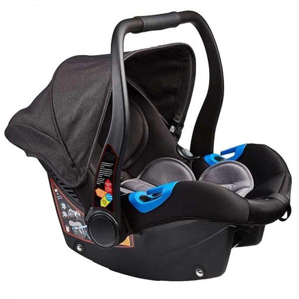 Κάθισμα αυτοκινήτου μαύρο γκρί με βάση ISOFIX Venice Child