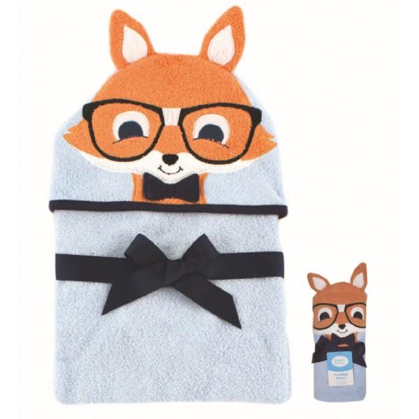 """Πετσέτα μωρού με κουκούλα """"αλεπουδάκι"""""""