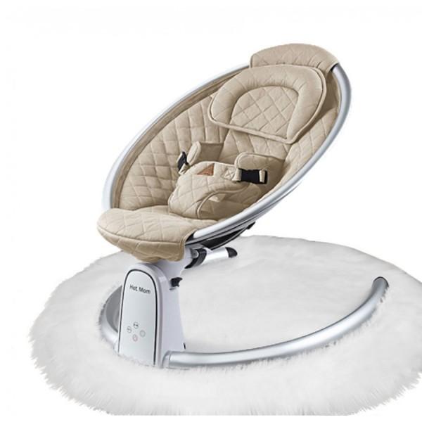 Ρηλάξ βρεφικό κάθισμα Hot Mom Μπεζ