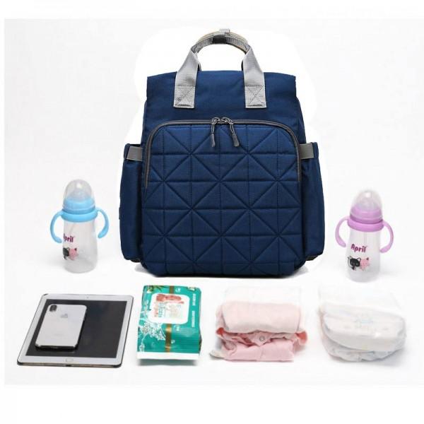 Τσάντα μωρού πλάτης σε μπλέ χρώμα