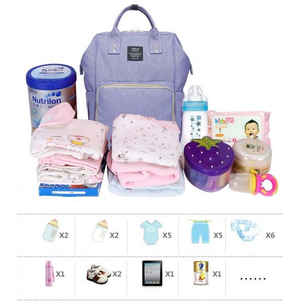 Τσάντα μωρού πλάτης σκούρο μπλε (navy)